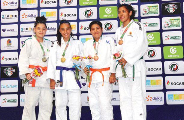 Suma Hidalgo 7 medallas