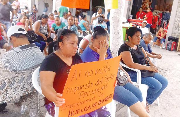 Huelga de hambre contra Ayuntamiento