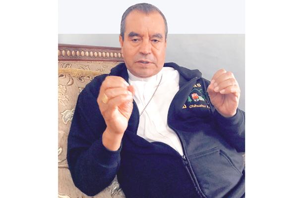 """Arzobispo díaz martínez, 40 años de sacerdocio; """"Ni el tiempo cura la corrupción"""""""