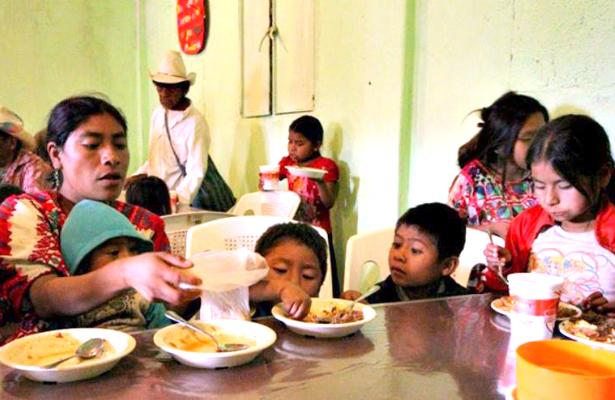 Comedores comunitarios, gran ayuda
