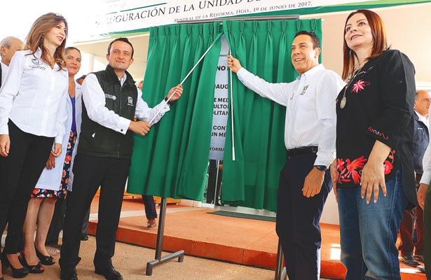 Inauguraron Hospital del IMSS