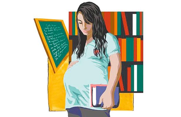 Resultado de imagen para embarazo adolescente