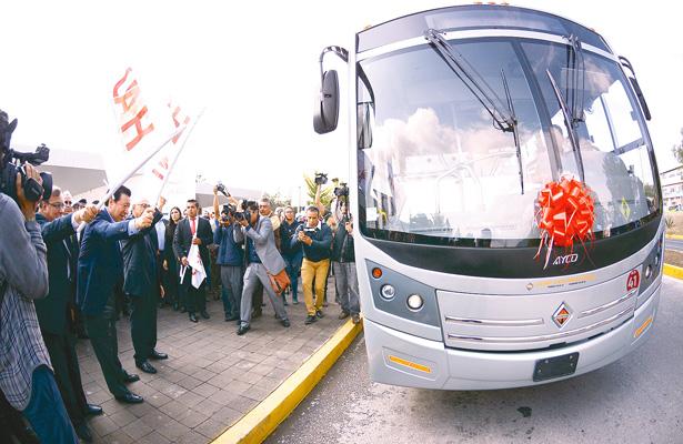 Modernizan transporte colectivo en la UAEH