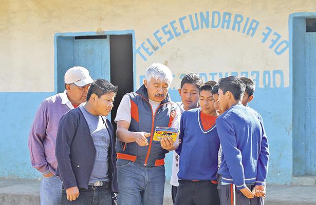 Aplican prueba PLANEA en la Huasteca