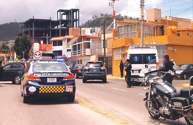 Asaltan y balean a pareja en Pachuca; les roban 500 mil pesos