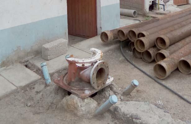 Desaparece equipo de bombeo en pozo de agua de El Arenal