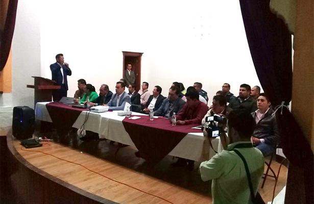 Policía Federal a Ixmiquilpan