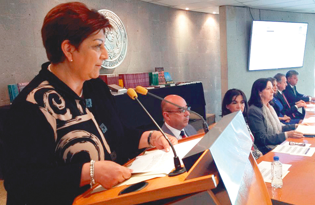 Constitución, base de la labor  jurisdiccional: Blanca Sánchez