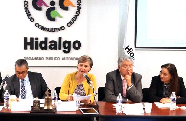 Se reúne Yoli Tellería con Consejo Consultivo Ciudadano en Pachuca