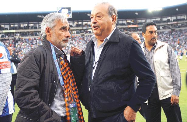 LA SOCIEDAD entre Grupo Pachuca, de Jesús Martínez, y América Móvil, propiedad de Carlos Slim, llegó a su final. Foto: El Sol de Hidalgo.