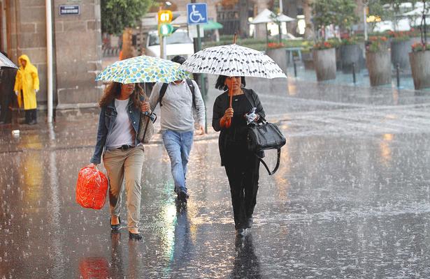 Arrecian las lluvias