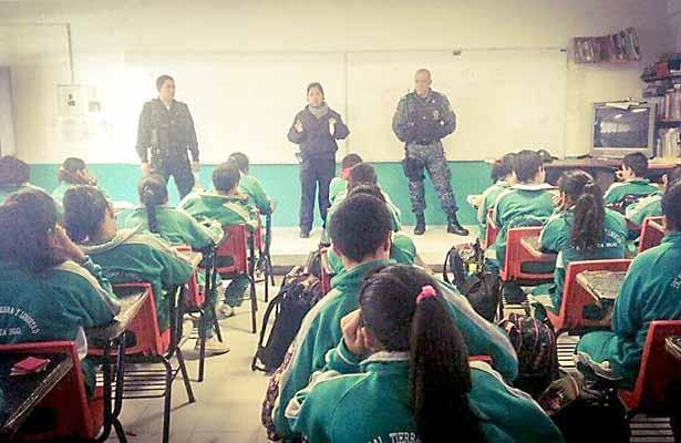 Apuestan por la educación vial en Zapata