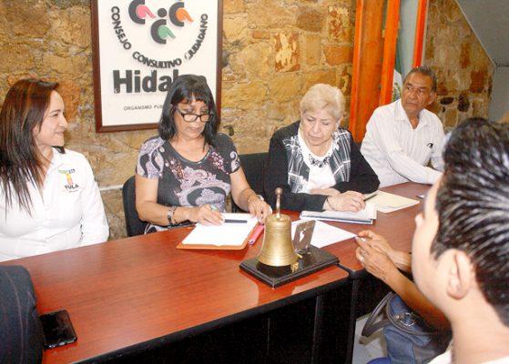 Titular de IMM compareció ante integrantes del CCC Tula