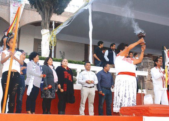 Inauguraron las fiestas de octubre  de Tepeji