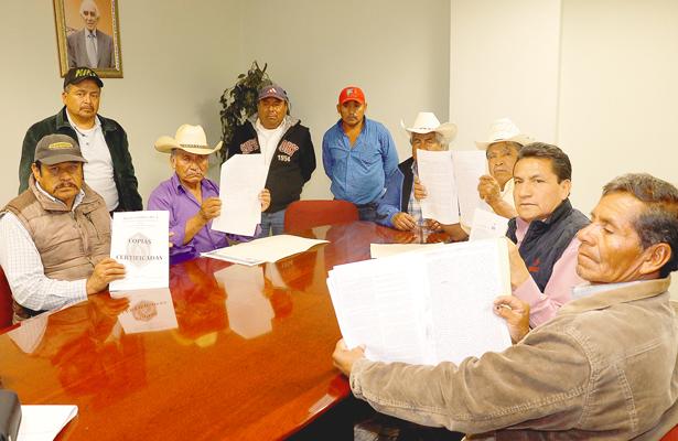 Piden aplicar la ley contra  invasores de tierras