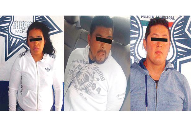 Les falló el tiro: municipales detienen a 3 probables ladrones