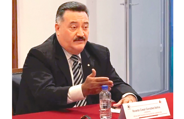 Ricardo González, fiscal anticorrupción