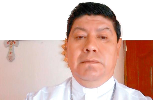 El Nuncio Apostólico, en Huejutla