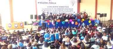 Niños del CAIC se irían de Pinta con Orquesta  Sinfónica de la UAEH