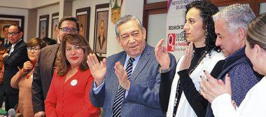 Reunión del Observatorio de Participación Política de Mujeres en Hidalgo
