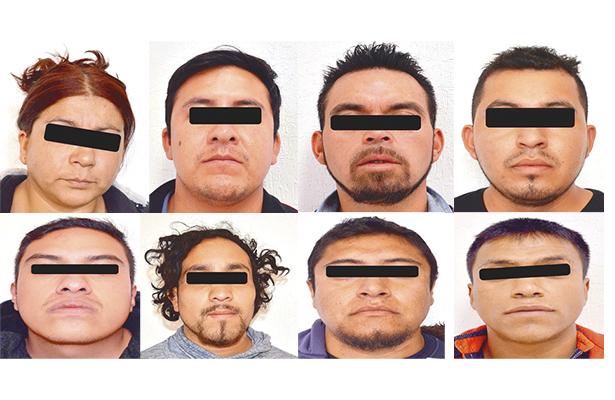 Integrantes de banda delictiva por fin fueron vinculados a proceso