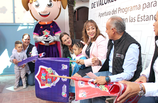 Promueven valores en estancias infantiles