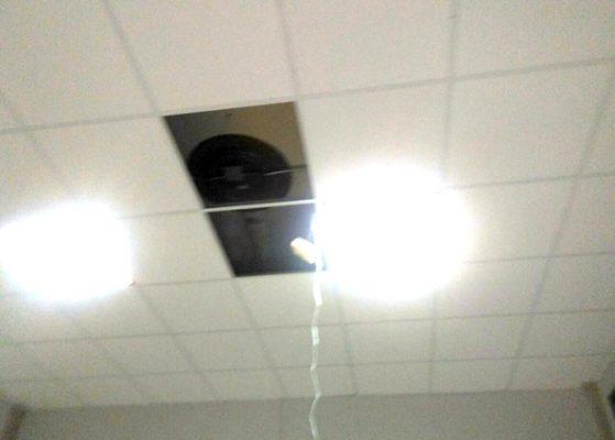 Detectan cámara oculta en Cabildo