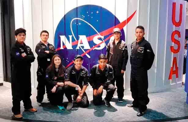 Hidalguenses triunfaron en la NASA