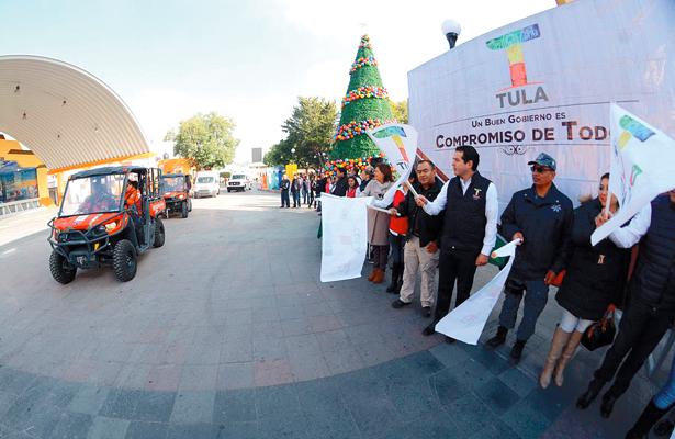 Arrancó ayer en Tula programa Bienvenido Paisano