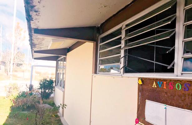 Otra vez saquearon y vandalizaron el CAM de Tepeji