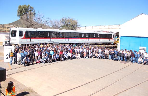 Despiden último tren: de Tepeapulco a Guadalajara