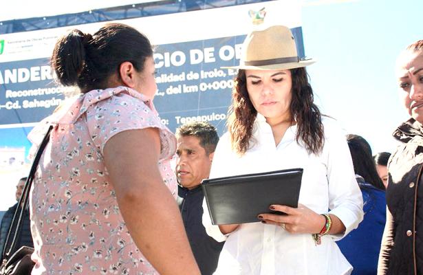 Diputada local, Mayka Ortega empezará a recibir peticiones