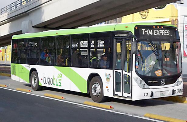 Aumentaría la tarifa de Tuzobús