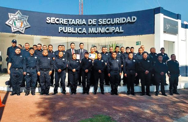 Policías de Tizayuca culminan curso