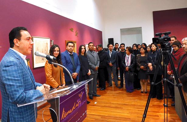 Un pueblo con cultura tiene rumbo: Omar Fayad