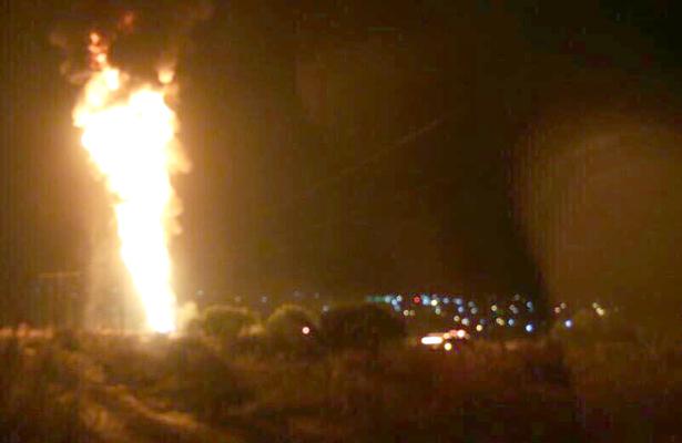 Ducto de Pemex explota por toma clandestina en Hidalgo