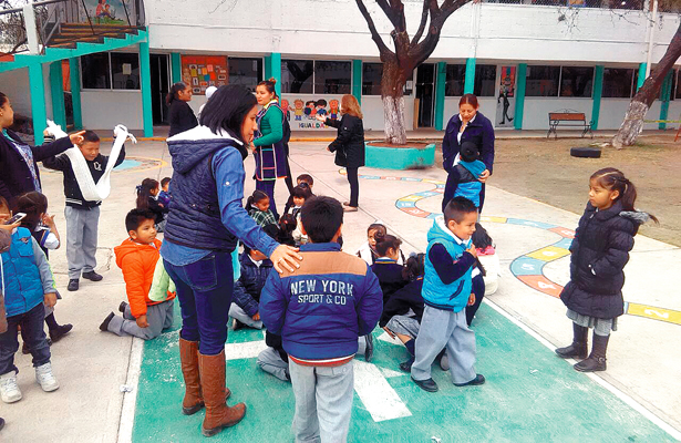 Alarmó temblor en 109 escuelas