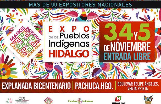 Llega la Expo de los Pueblos Indígenas