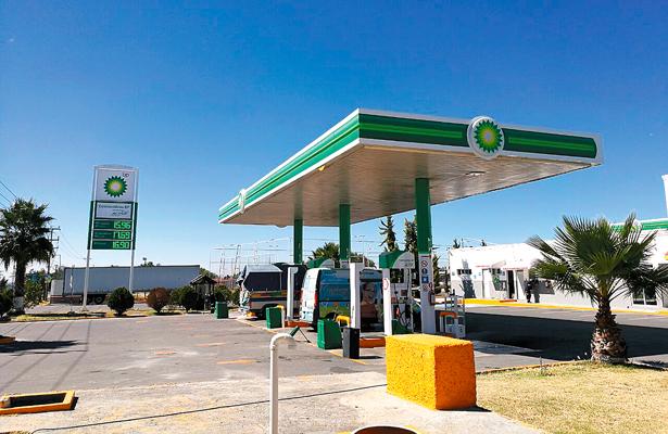 Gasolinería británica en Tizayuca