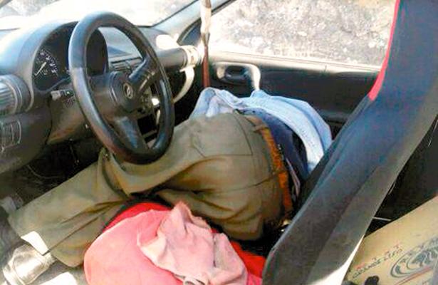 Sufrió infarto al volante mientras circulaba, ayer