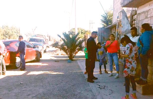 Balearon a hermanos en Téllez; paran en el hospital