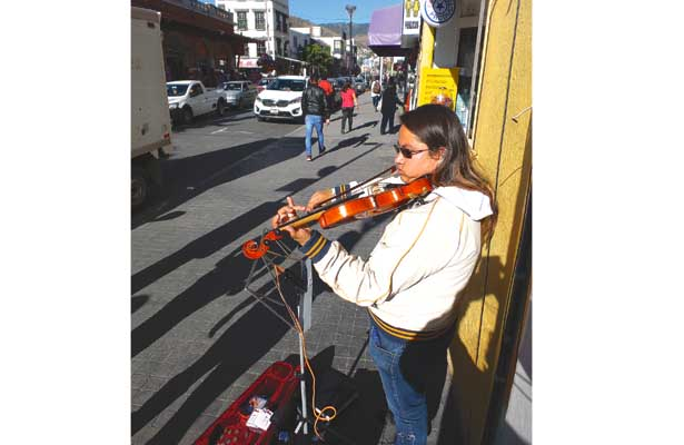 Artista de la calle, historia de vida
