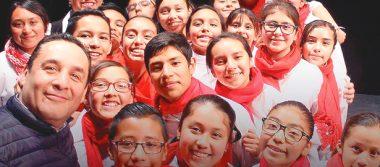Carlos Arturo Galván acompañará a los Niños Cantores de Hidalgo