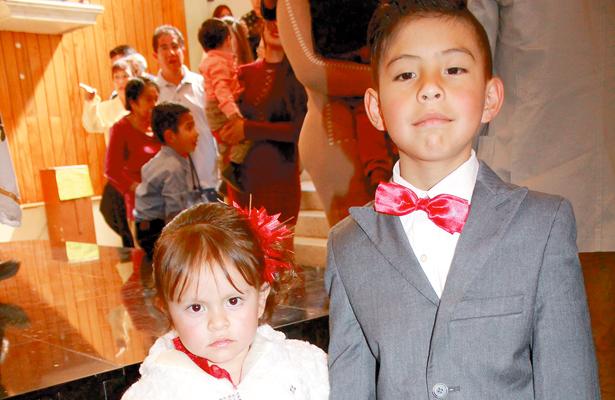 Keidi Cristal Rodríguez Oliver y Dominic Carrillo Chávez. Foto: El Sol de Hidalgo.