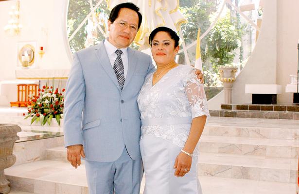 Guadalupe Gama Reyes y Martín Vargas Segovia. Foto: El Sol de Hidalgo.