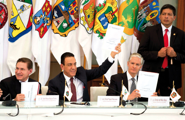 Gobernadores aprueban propuesta de Omar Fayad