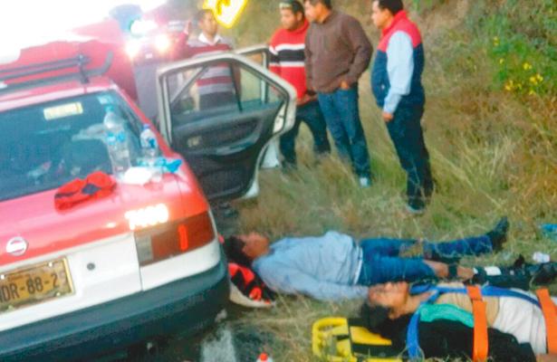 Rebase fallido: 8 heridos