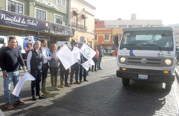 Nueva empresa recolecta basura en Pachuca