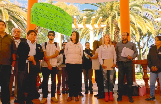 Defensores del río  Tula buscan apoyo de  Corte Internacional