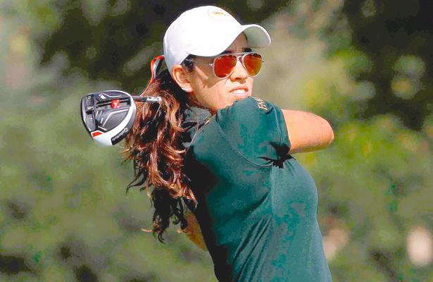 Lla jugadora hidalguense estará nuevamente en el US Open Amateur. Foto: El Sol de Hidalgo.